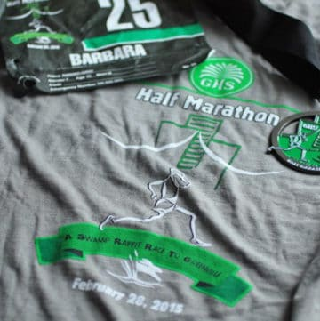 Swamp Rabbit 1/2 Marathon