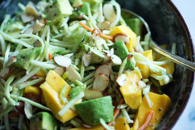 Mango Avocado Broccoli Slaw Butter Baggage
