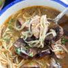 A bowl of Sausage Mushroom Soup
