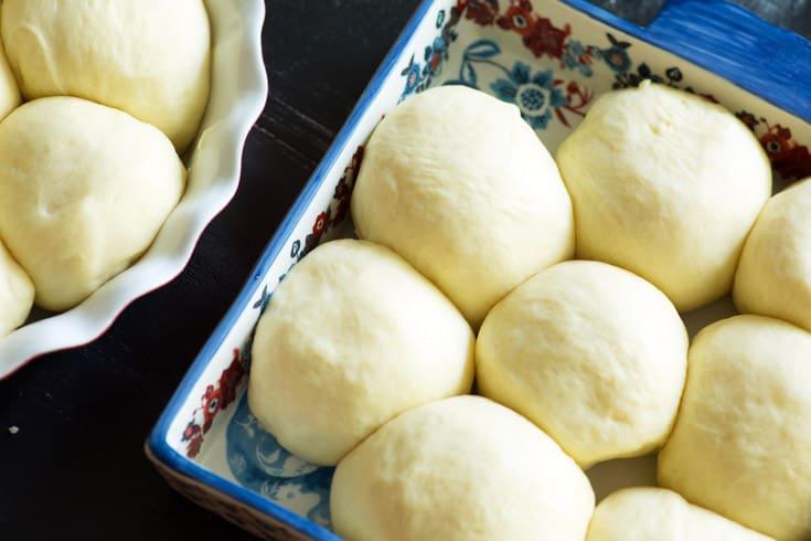 Dough for Hawaiian Rolls