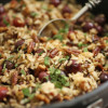 Wild Rice with Roasted Grapes
