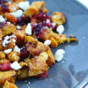 Butternut Squash with Cranberries and Feta