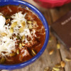 Chili with Chocolate and Kahlúa, a combination that is smooth and spicy with a hint of something a little different. You'll find it to be the BEST chili ever. |butterandbaggage.com