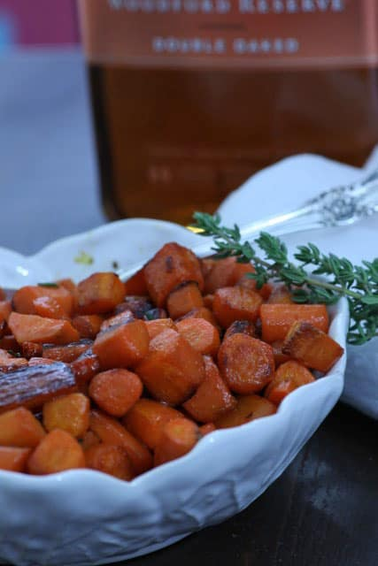 Bourbon Glazed Carrots | Butter and Baggage