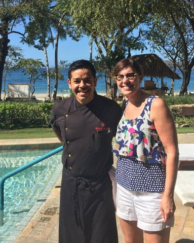 Barbara and the Chef at the Four Seasons