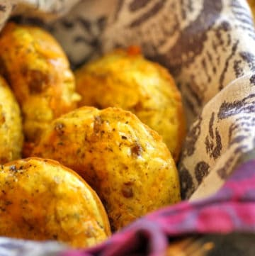 Sausage Bagel Muffins image