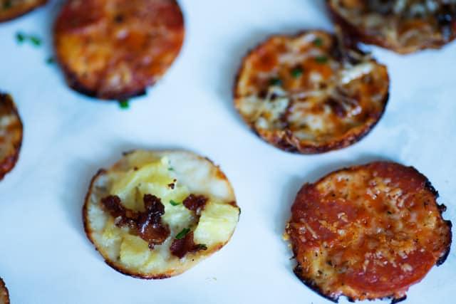 Pizza Bites prep