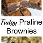 Praline Brownies