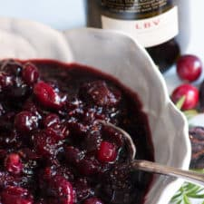 Cranberry Relish with Port and Figs