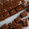 Vanilla Caramels using Tiny Cat Vodka or bourbon will convert you to making your own candy. Simple to make and perfect for gifts. |butterandbaggage.com