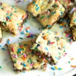 Sprinkle Blondies