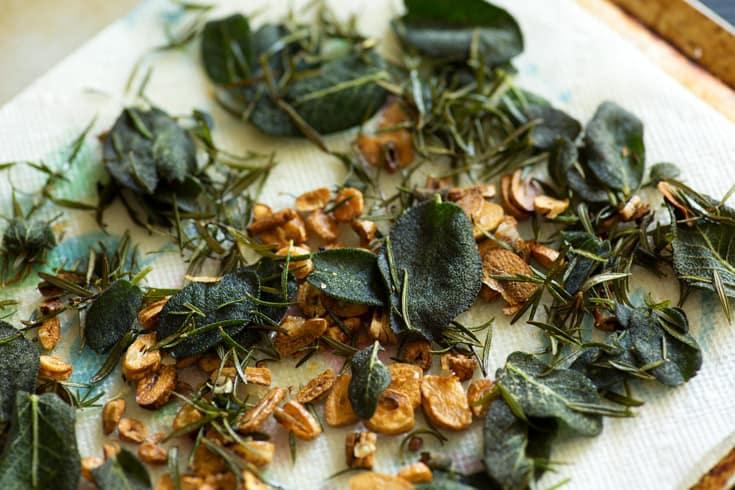 sage and garlic