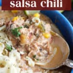 Chicken Salsa Chili in a bowl.