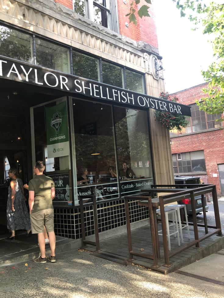 Outside Taylor's Shellfish