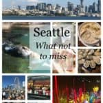 A collage of things to do in Seattle