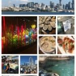 A collage of photos of Seattle