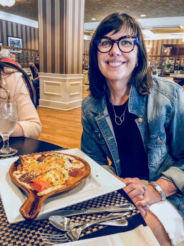 The original hot brown at the Brown Hotel