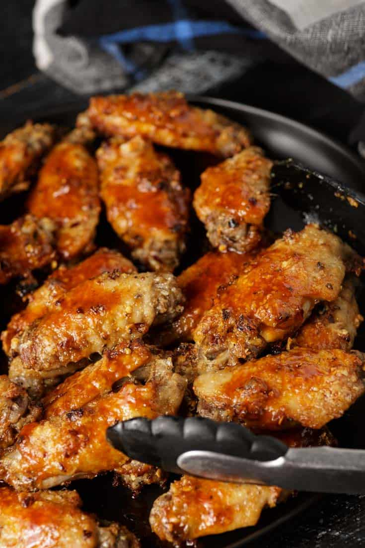 Chicken wings with Buffalo sauce