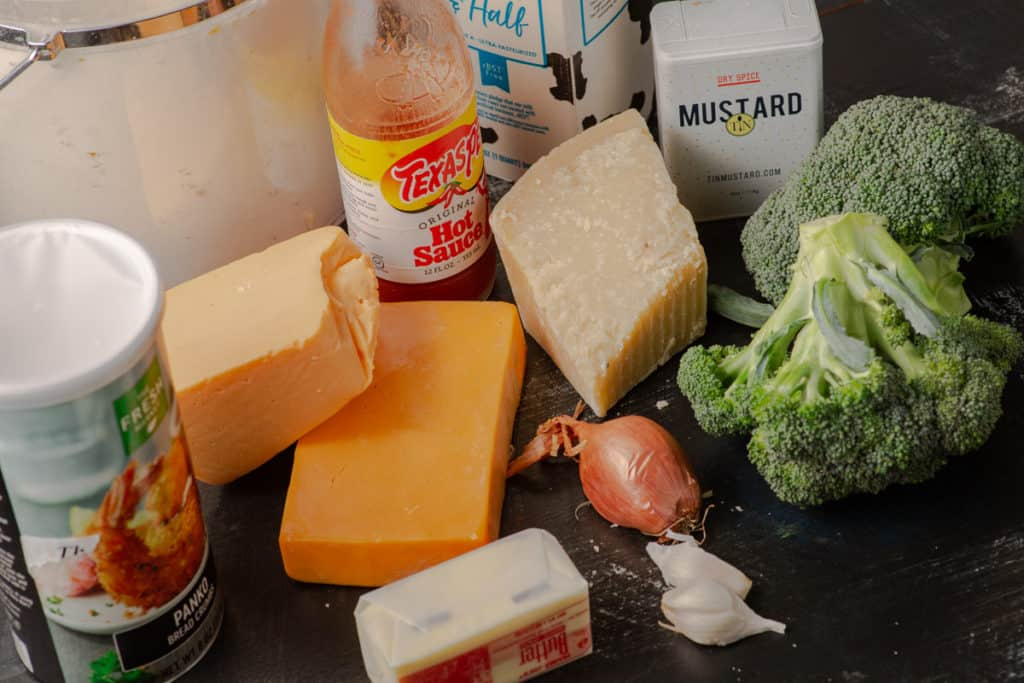 Ingredients for broccoli casserole