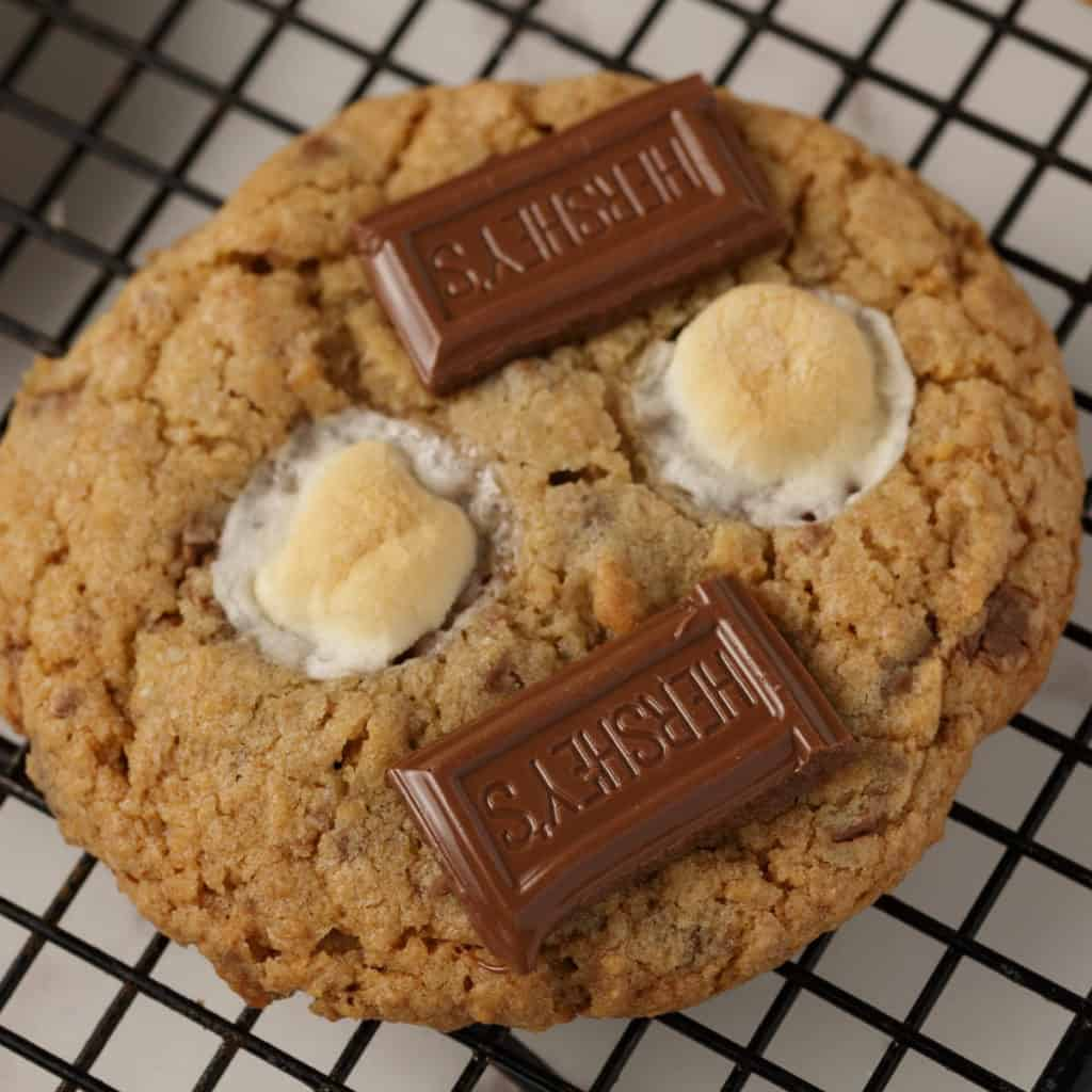 A single S'mores Cookie