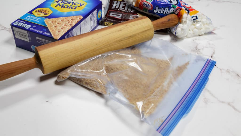 Ingredients for S'mores Cookies