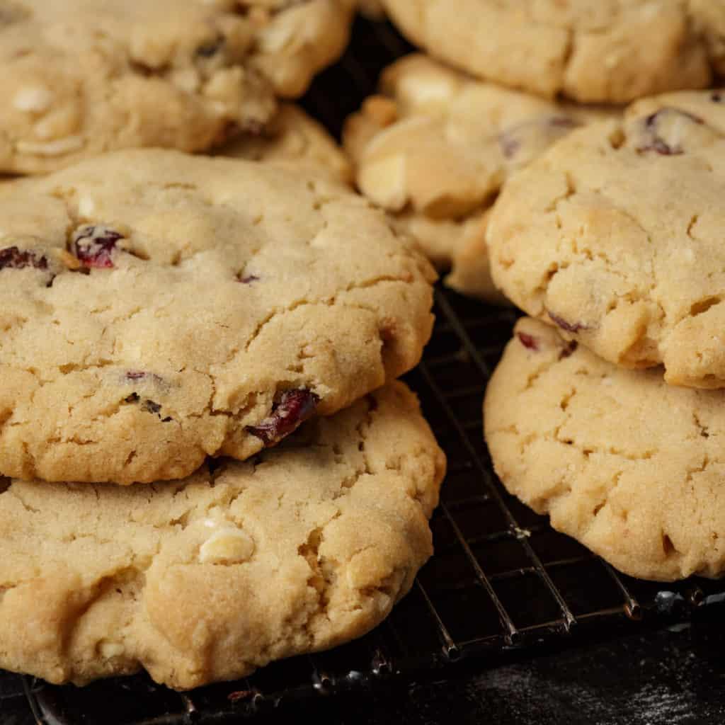 Stacks of Special K cookies