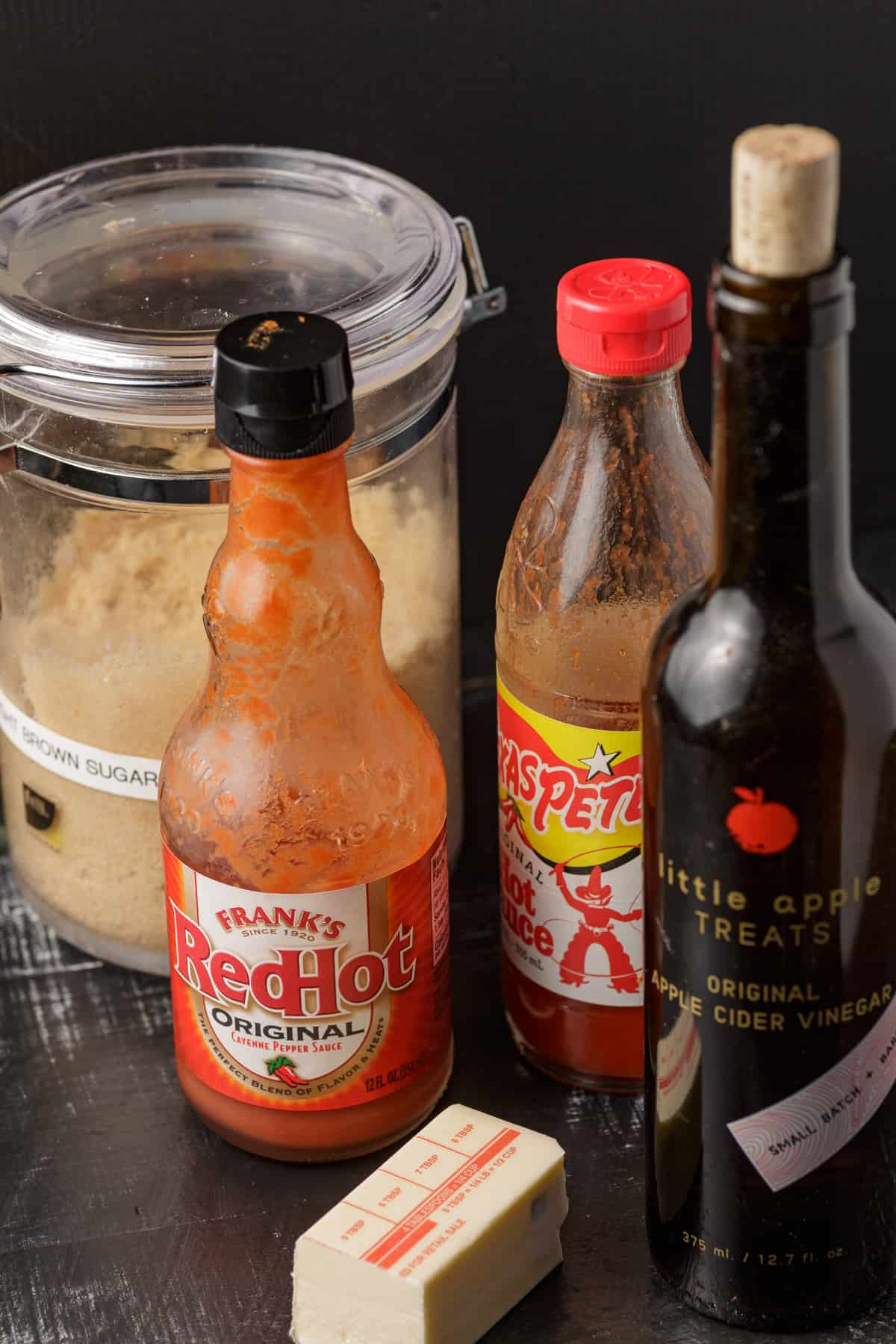 Ingredients for Buffalo sauce