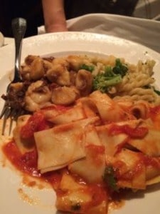 Dinner at Becco