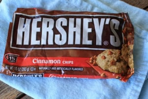 Bag of Hershey's Cinnamon Chips