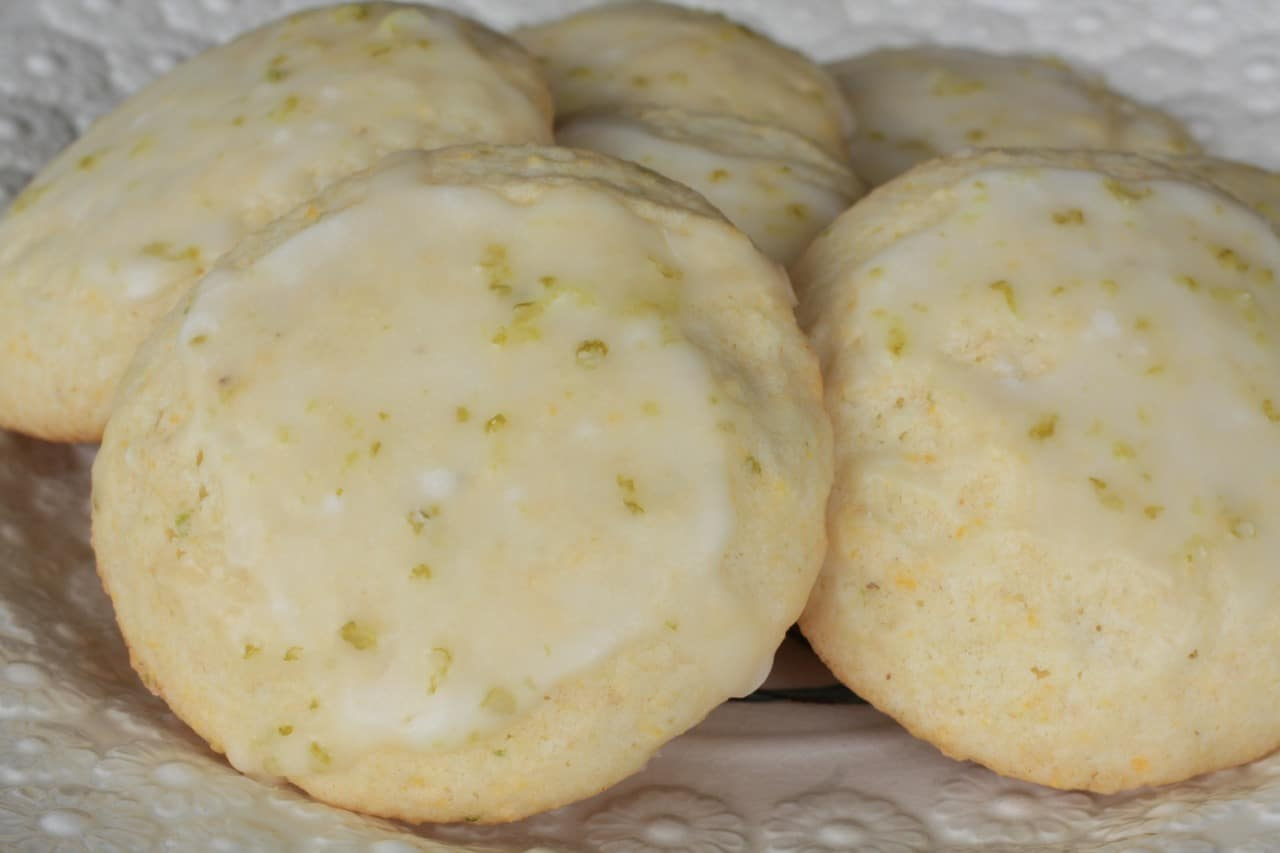 Cornmeal Lime Cookies Recipe — Dishmaps