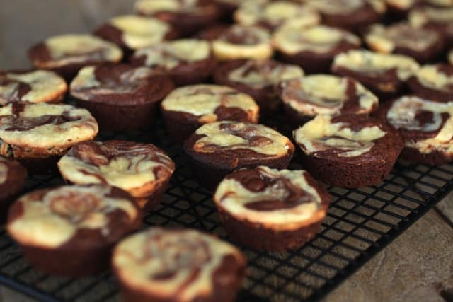 Cheesecake Brownie Bites Butter And Baggage