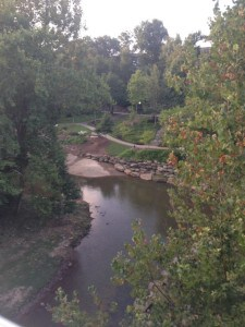 Swamp Rabbit Trail in Greenville