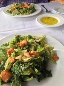 Ceasar Salad at Larkin's on the River - Greenville SC