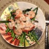 Lemon Shrimp with Asparagus