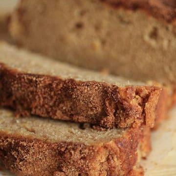Snickerdoodle Apple Bread