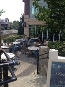 Outdoors at The Lazy goat - Greenville SC
