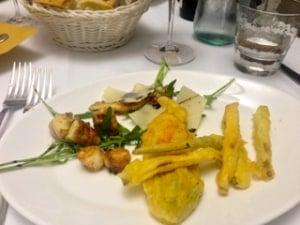 Dinner at Trattoria La Traviata